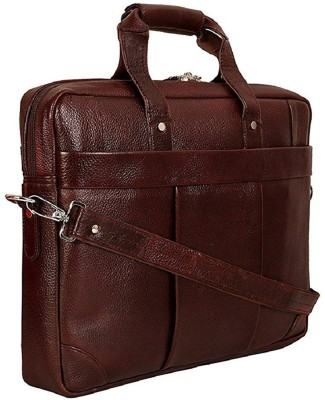 MOZRI 15 inch Inch Laptop Backpack Brown