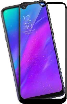 Karpine Edge To Edge Tempered Glass for Realme 3, Vivo Y93(Pack of 1)