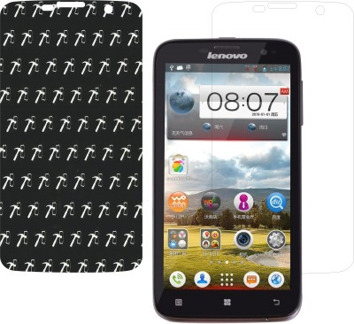 IndiForce Screen Guard for Lenovo A850(Pack of 1)