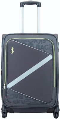 Skybags SPOTLIGHT 4W EXP STR 68  E  GREY Expandable Check in Luggage   28 inch Skybags Suitcases