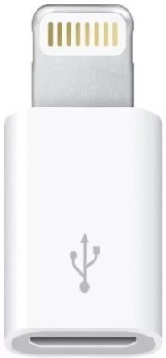 Drumroar Micro USB (male) to Lightning 8 Pin Cable Adaptor (female) USB Adapter(White)  available at flipkart for Rs.199