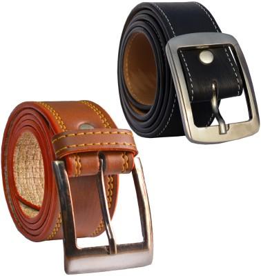LOOPA Men Formal Multicolor Synthetic Belt
