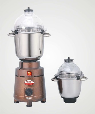 Electrosun SUMO 1600 Mixer Grinder(Copper Color, 2 Jars)