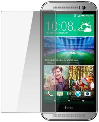 Macron Tempered Glass Guard for Htc one (e8)(Pack of 1)
