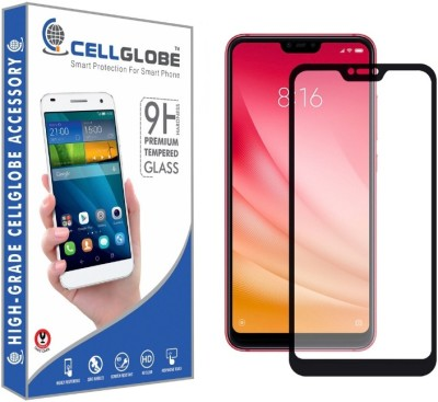 cellglobe Tempered Glass Guard for Redmi Note 6(Pack of 1)