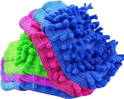 DvineAutoFashionZ Microfiber Vehicle Washing Hand Glove Pack Of 5