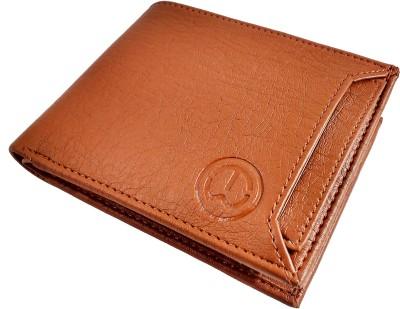 SA Enterprises Men Tan Artificial Leather Wallet 5 Card Slots SA Enterprises Wallets