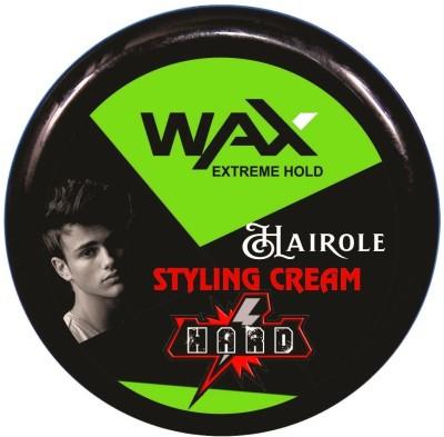 Hairole Extreme Hold Hair Wax Hair Wax(80 g)