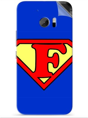 Snooky Alphabet F 1325R-SknHtm10 HTC One M10 Mobile Skin(Blue)