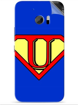 Snooky Alphabet U 1340R-SknHtm10 HTC One M10 Mobile Skin(Blue)
