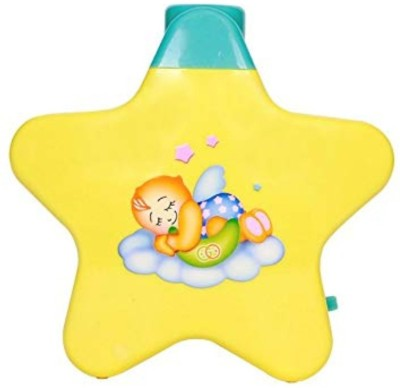 NKSUNNY Toyz Battery Operated Musical Infant Angel'S Star Projector For Babies - Multi Color(Multicolor)