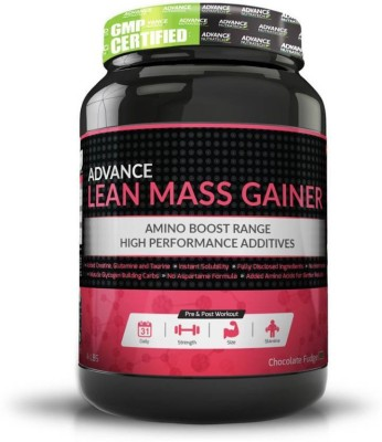 Advance Nutratech Advance Lean Mass Gainer Weight Gainers/Mass Gainers 1.8 kg, Double Rich Chocolate