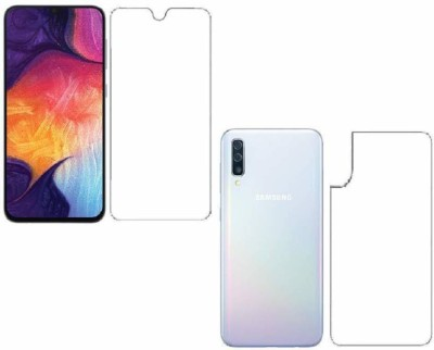 FIRST IMPRESSION Front and Back Tempered Glass for Samsung Galaxy A50, Samsung A50, (Flexible )(Pack of 1)