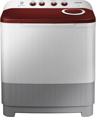 Samsung 7.2 kg Semi Automatic Top Load Washing Machine with In-built Heater White, Grey, Red(WT72M3000HP/TL) (Samsung)  Buy Online