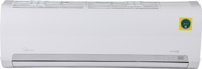 Midea 1 Ton 3 Star Split Inverter AC - White(12K 3 Star Santis Pro Dlx Inverter R410A (MI001)/12K 3 Star Inverter R410A ODU (MI001), Copper Condenser)
