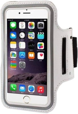 YS Traders Arm Band Case for All Android / iOS Smartphones(White)