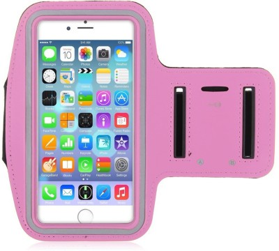 YS Traders Arm Band Case for All Android / iOS Smartphones(Pink)