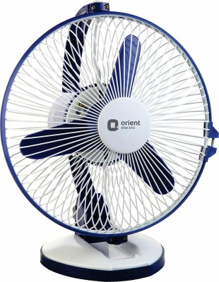 Orient Electric ZIPPY 225 mm 3 Blade Table Fan(WHITE BLUE, Pack of 1)