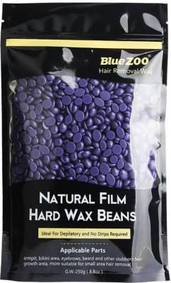 Bluejack Segolike Bikini Body Hair Removal Hot Film Hard Wax Beans Stripless Waxing Depilatory - purple lavender Wax(100 g, Set of 2)