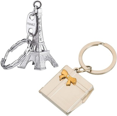 Stealodeal Paris Eiffel Tower With Photo Frame Key Chain