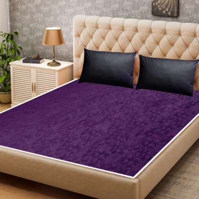 LooMantha Fitted King Size Waterproof Mattress Protector(Purple)