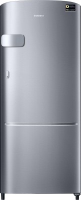 Samsung 192 L Direct Cool Single Door 3 Star Refrigerator(Electric Silver, RR20N2Y1ZSE/NL) at flipkart