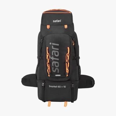 Safari Snorkel 60 Plus 10 Liters Rucksack  - 60 L(Black)