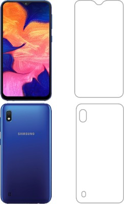 FashionCraft Front and Back Tempered Glass for Samsung Galaxy A10(Pack of 1)