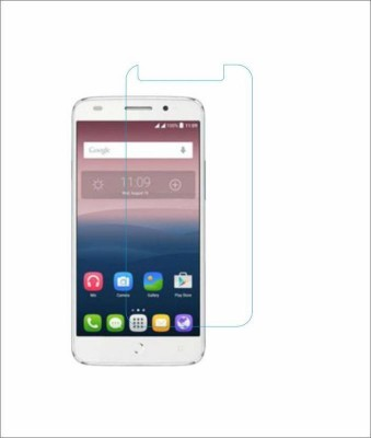 CHAMBU Tempered Glass Guard for Lava Mobiles Iris Atom(Pack of 1)