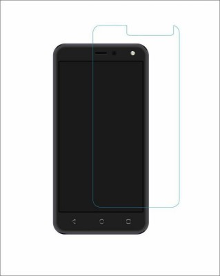 CHAMBU Tempered Glass Guard for Lava Mobiles Iris 502(Pack of 1)