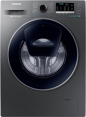 Samsung 9 kg Fully Automatic Front Load Washing Machine with In-built Heater Grey(WW90K54E0UX/TL) (Samsung)  Buy Online