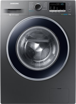 Samsung 7 kg Fully Automatic Front Load Washing Machine with In-built Heater Grey(WW70J42E0BX/TL) (Samsung)  Buy Online
