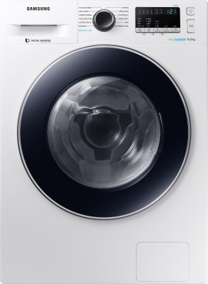 Samsung 8 kg Inverter with Hygiene Steam Fully Automatic Front Load with In-built Heater White(WW80J44E0BW/TL) (Samsung)  Buy Online