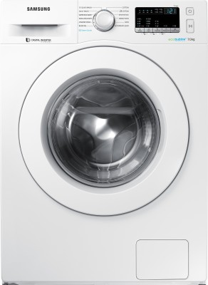 Samsung 7 kg Fully Automatic Front Load Washing Machine with In-built Heater White(WW70J42E0KW/TL) (Samsung)  Buy Online
