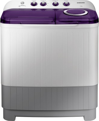 Samsung 7.5 kg Semi Automatic Top Load Washing Machine with In-built Heater White, Grey, Purple(WT75M3200HL/TL) (Samsung)  Buy Online