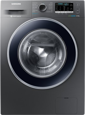 Samsung 8 kg Fully Automatic Front Load Washing Machine with In-built Heater Grey(WW80J54E0BX/TL) (Samsung)  Buy Online