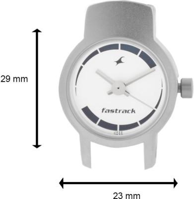 Fastrack NE2298SL04 Basics Analog Watch   For Women Fastrack Wrist Watches