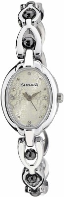 Sonata 8048SM04C Analog Watch   For Women Sonata Wrist Watches
