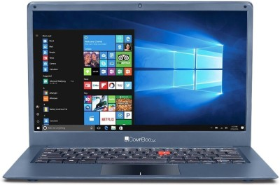 iball Compbook Celeron Dual Core 7th Gen    3   GB/32   GB EMMC Storage/Windows 10  Marvel6 V2.0 Laptop 14 inch, Metallic Grey