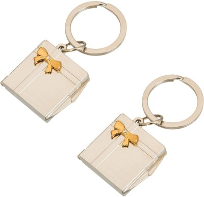 Stealodeal Passport Size Photo Frame keychain (Pack of 2) Key Chain