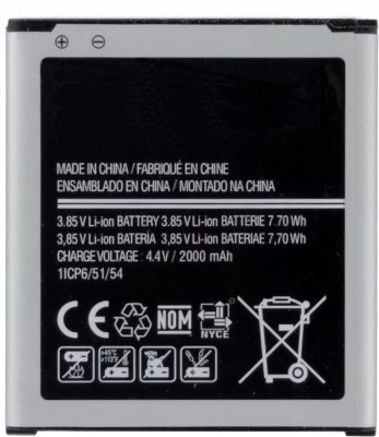 Grand Cell Mobile Battery For Samsung Galaxy J2 | SM-J200G/DD | EB-BG360BBE | 2000mAh
