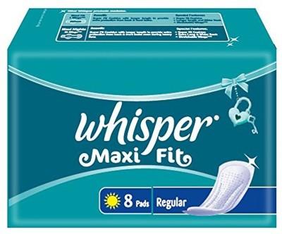 Whisper Maxi Fit 8 Regular Pad Sanitary Pad