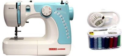 Usha MARVELA BLUE WITH SEWING KIT Electric Sewing Machine( Built-in Stitches 14)