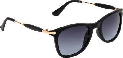 Deixels Rectangular Sunglasses(Grey, Clear)