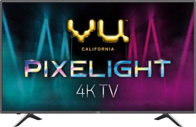 View Vu Pixelight 138cm (55 inch) Ultra HD (4K) LED Smart TV(55-QDV)  Price Online