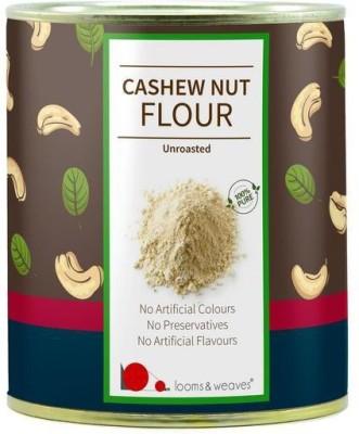 looms & weaves Unroasted Cashew Nut Flour/Powder - 250 gm Baking Powder(250 g)