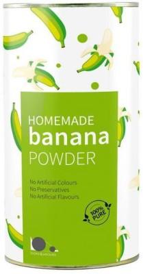 looms & weaves 100 % Pure & Natural Banana Powder From Kerala - 500 Gm ( Home Made) Baking Powder(500 g)