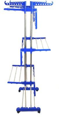 TNC Steel Floor Cloth Dryer Stand 900034(3 Tier)