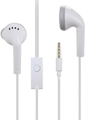 blutech COMPATIBLE With Earphone for Xi-aomi Mi 6 pro Wired Headset with Mic(White, In the Ear)