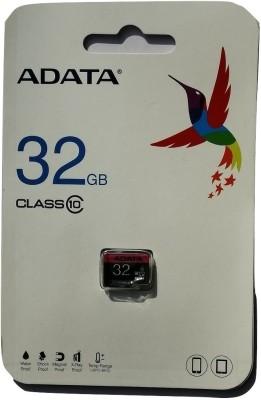 ADATA Class 10 32 GB MicroSD Card Class 10 80 MB/s  Memory Card
